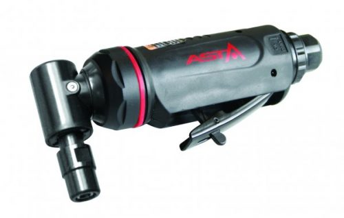 """A-5227NK 6mm 1/4"""" Collet 90 Degree Angle Air Pneumatic Mini Die Grinder Rear"""