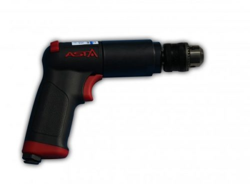 A-6212N-KR Pneumatic Drill PISTOL Grip 1/2″/ 13mm, 800 RPM, Keyed, Air Powered