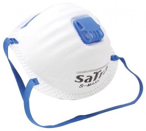 10x Disposable Work Dust Masks Valved FFP2 P2 Respirator S-MASK